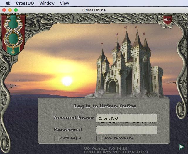 CrossUO: Ultima Online
